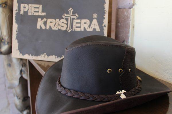 3c4a364e4bce3 Sombrero tipo australiano – Piel Kristera